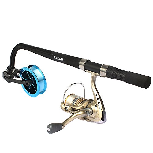Goture professional portable spooling station fishing rod for Professional fishing line spooler