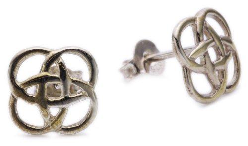 Heritage Sterling Silver 4216 Celtic Open Knotwork Stud Earrings 4216HP