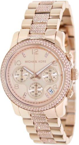 Michael Kors 'Runway' Crystal Chronograph Bracelet Watch, 38Mm