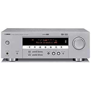Yamaha HTR-5930SL 5.1-Channel Digital Home Theater Receiver, Silver