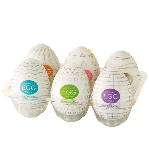 TENGA EGG テンガエッグ 6種バラエティパック 超ストレッチ素材の新感覚オナキャップ開けてビックリオナタマゴ