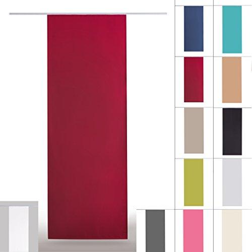 fl chenvorhang blickdicht schiebegardine raumteiler schiebevorhang x 245cm auswahl mit. Black Bedroom Furniture Sets. Home Design Ideas