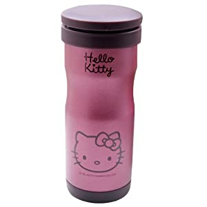 Hello Kitty Thermos Vacuum Cup Bottle Jug Flask Pink