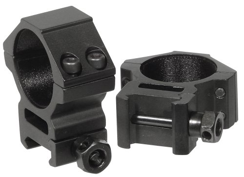 UTG 30mm/2PCs Medium Profile Picatinny/Weaver Rings (30mm Scope Rings compare prices)
