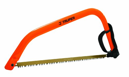 Images for Truper 30255 21-Inch Steel Handle Bow Saw, Cam Lever Quick Change Blade Release, Orange