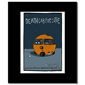 DEATH CAB FOR CUTIE - Hollywood Ca 2003 Matted Mini Poster - 22.8x15.2cm