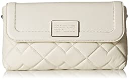 Marc by Marc Jacobs Quilted Blaze Foldover Clutch, Lily of The Valley, One Size