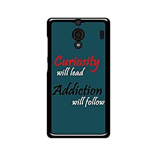 Vibhar printed case back cover for Xiaomi Redmi 1s Curiosity