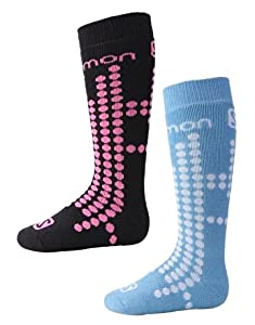 Salomon Team Junior Ski Socks (2-Pack)