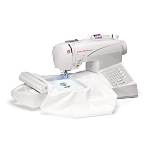 amazoncom singer ce 150 futura sewing and embroidery machine futura embroidery machine how do i decrease the number of stitches 300x300