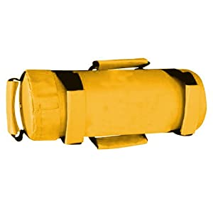 Power Cloth/Sand FILLED Bag Boxing MMA Training Fitness 5-35kg (Yellow) (10kg weight Bag)