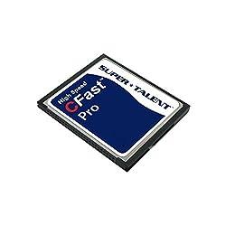 Super Talent Cfast Pro Card 32GB Reliable MLC or SLC NAND Type Flash (FDM032JMDF)
