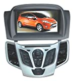 ChiLin Ford Fiesta Intelligent Navigation System with High Touchscreen GPS DVD Player Built-in GPS,Bluetooth,TV,AM/FM with RDS, iPod,steering wheel control,rear view camera input