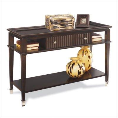 Buy low price lane furniture meridien sofa table finish for Low sofa table