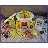 Bass Bucket - O - Tackle / Fishing Gift Basket ~ Northland