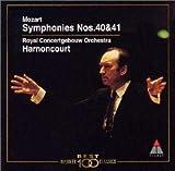 モーツァルト : 交響曲第40番&第41番「ジュピター」