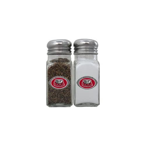 Alabama Crimson Tide Football Salt/Pepper Shaker Set   NCAA College Athletics Fan Shop Accessories