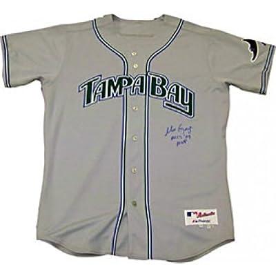 Matt Garza Autographed / Signed Tampa Bay Rays Jersey