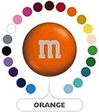 M&M's Orange Milk Chocolate Candy 1LB Bag