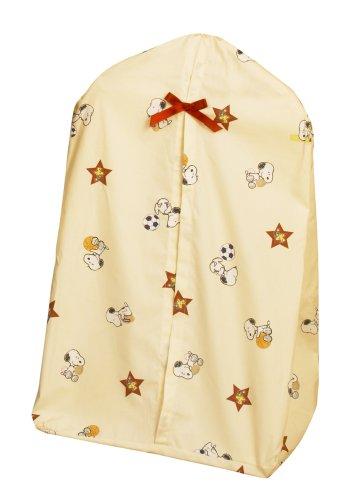 Bedtime Originals Champ Snoopy Diaper Stacker, Yellow