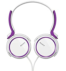 Sony MDR-XB250 Violet On-Ear Extraa Bass Headphone  (Violet)
