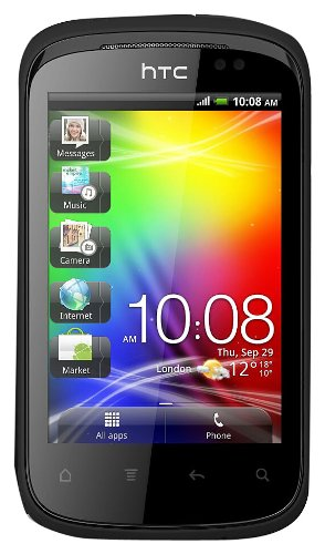 HTC Explorer A310e Unlocked GSM Phone with Android 2.3 OS, 3.2MP Camera, GPS and