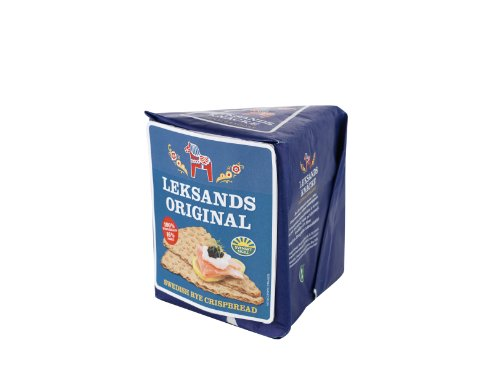 Leksands Original Triangle Crispbread 200 g (Pack of 4)