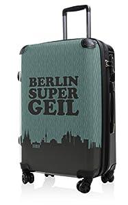 HAUPTSTADTKOFFER® · Hartschalenkoffer Koffer Trolley Reisekoffer Hartschale · Serie