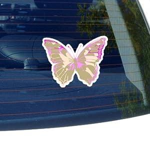 Pink CAMO Camouflage Butterfly - Car, Truck, Notebook, Bumper, Window Vinyl Sticker