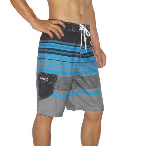 Mens Hurley Skate & Surf Boardshorts Board Shorts - Multicolore (Size: 32)