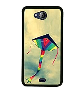 Colourful Kite 2D Hard Polycarbonate Designer Back Case Cover for Micromax Canvas Play Q355
