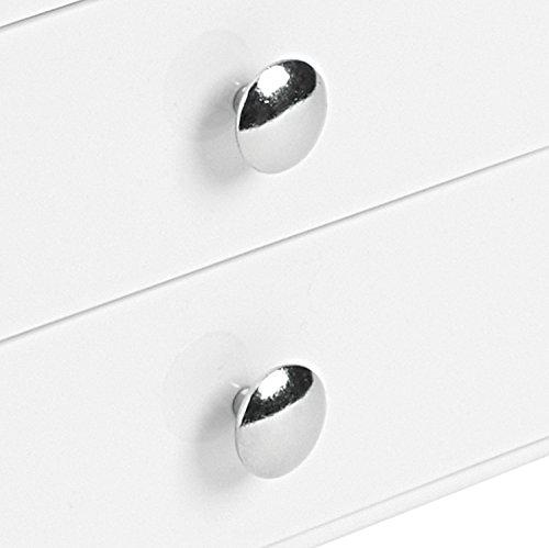 InterDesign 35301EU Organiseur avec 3 Tiroirs Blanc