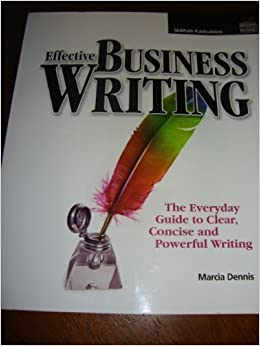 business writing how to write clearly and concisely