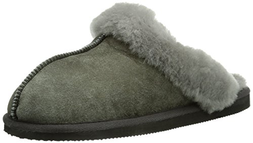 Shepherd - Jessica Slipper, Pantofole da donna, Grigio (Antique Grey 21), 41