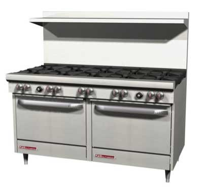 Southbend-S60DD-2RR-300-Series-60-Restaurant-Range-w-6-Burners-Raised-Griddle-Standard-Ovens
