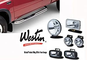 Westin 45-2210 Sportsman Polished Stainless Steel Grille Guard - 1 Piece by Westin