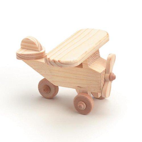 Darice 9163-46 Wood Airplane Craft - 1