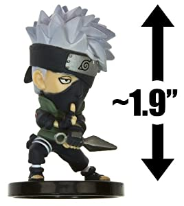 """Naruto Heros Chara-Pedia 2"""" Trading Figure - Kakashi"""