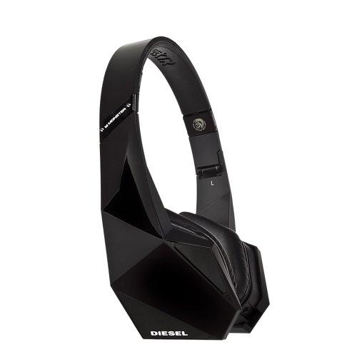 Diesel Vektr by Monster On-Ear Headphones with ControlTalk (Black)