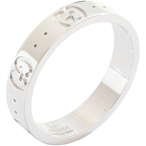 (グッチ)Gucci リング アイコンリング 073229 WG ホワイトゴールド 11号 中古 指輪 GUCCI [並行輸入品]
