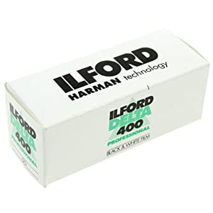 Ilford Delta 400 Professional, Black and White Print Film, 120 (6 cm), ISO 400 (1780668)