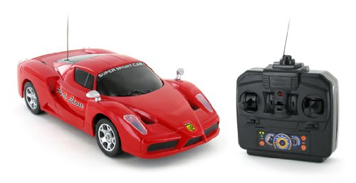 1:24 Ferrari FXX Speed King Electric RTR Remote Control RC Car (Color May Vary)