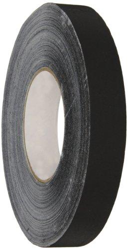 "Polyken Vinyl Coated Cloth Premium Gaffer's Tape, 11.5 mil Thick, 55 yds Length, 1"" Width, Black"