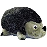 Kyjen PP01129 Hedgehog Junior Plush Dog Toys Squeak Toy, Small, Grey