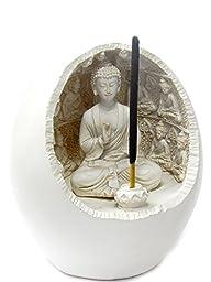 Buddha Incense Sticks Holder Meditation Figurine
