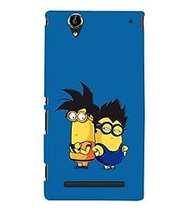 EPICCASE Cool Dudes Mobile Back Case Cover For Sony Xperia T2 (Designer Case)