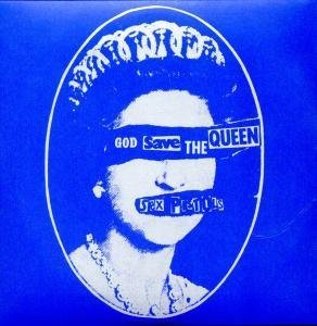 """Cover of """"SEX PISTOLS GOD SAVE THE QUEEN ..."""