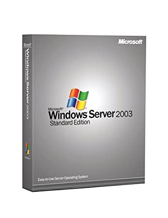 Microsoft Windows Server Standard 2003 With Service Pack (10 Client) [Old Version]