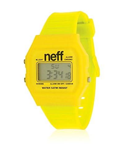 Neff Reloj de cuarzo Flava Amarillo 35  mm