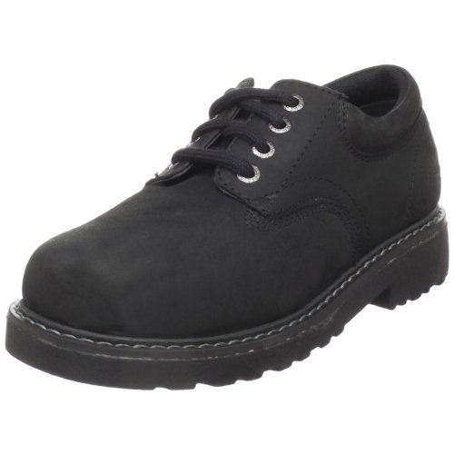 Loafers amp slip ons academie kids tuffex oxford black oiled 10 w us
